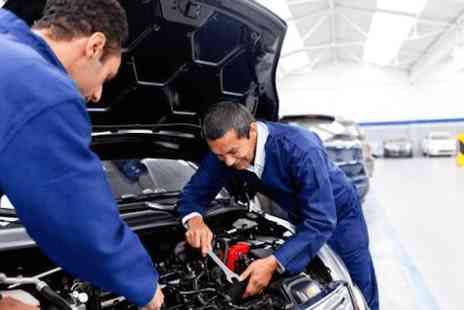 Aintree Motors - MOT test with fluid top up - Save 0%