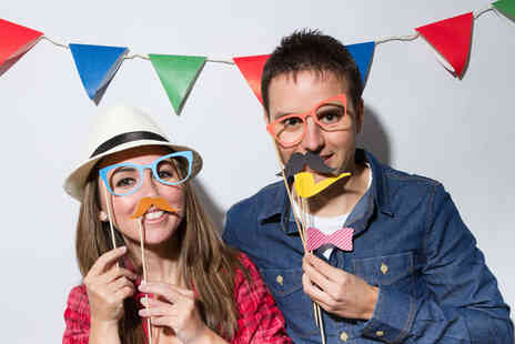 All in 1 booth - Three hours of photobooth hire  - Save 22%