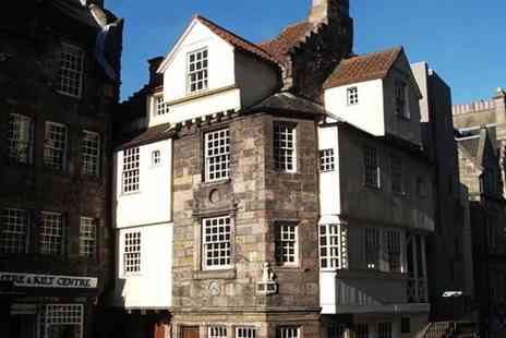 Scottish Storytelling Centre - Audio tour of the historic John Knox House for two  - Save 58%