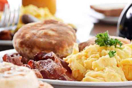 Lakeside Cafe - Breakfast or Brunch For Two With Hot Drink  - Save 57%