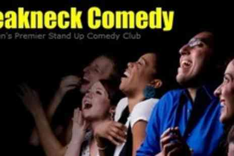 Breakneck Comedy - Two Tickets to a Choice of Comedy Show - Save 60%