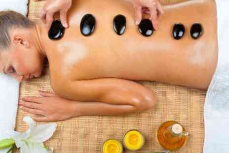 MITYME - 60 Minute Hot Stone Massage  - Save 74%