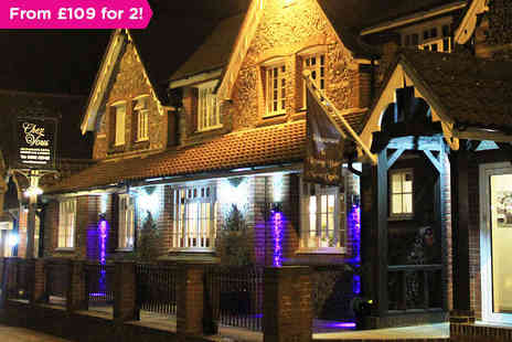 Chez Vous - Overnight Stay for Two with Five Course Tasting Menu - Save 0%