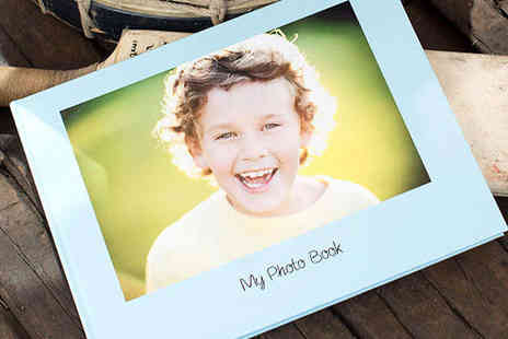 Huggler - Personalised Hardcover 50 Page Photo Book - Save 65%