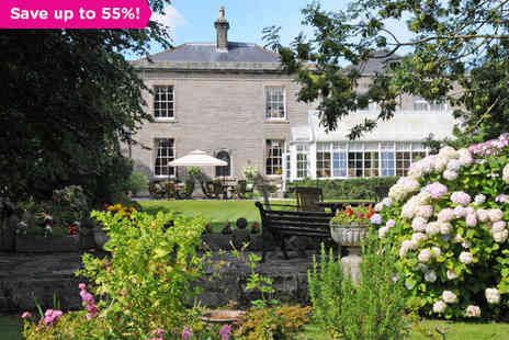 Springfield House Hotel - A Lancashire Country House Set in Walled Gardens - Save 55%