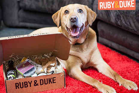 Ruby & Duke - Three Month Subscription to Dog Goody Box, Delivery Included - Save 51%