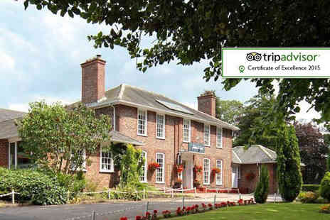 The Gables Hotel - One night stay for two including 2 course dinner, breakfast & late check out  - Save 52%