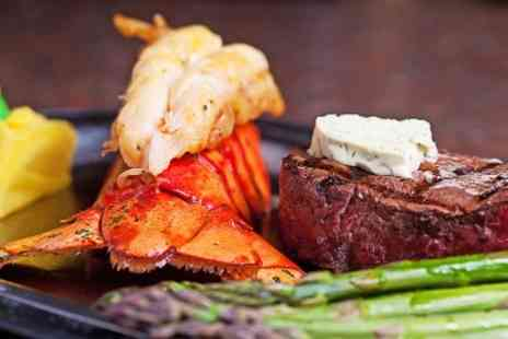 Ronel Restaurant - Steak and Lobster Meal  - Save 42%
