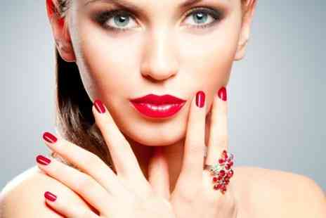 Talk Of The Town beauty Salon - Gelax Manicure or Pedicure  - Save 56%