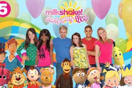 Channel 5 Broadcasting  - Ticket to Milkshake! Live, Party Party - Save 24%