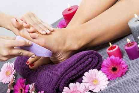 Images hair and nail salon - Shellac Manicure or Pedicure  - Save 0%