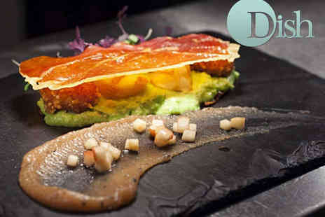 Dish Dining Room & Bar - Starter and Main Course for Two with Live Jazz  - Save 59%