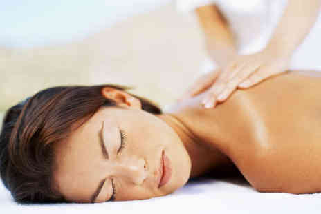 Beauty and the Spa - Back, Neck, and Shoulder Massage and Express Facial - Save 58%