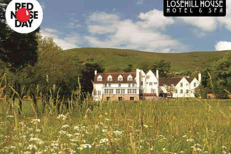 Losehill House Hotel & Spa - Spa Experience with Use of Facilities, Choice of Treatment, and Two Course Lunch  for One  - Save 51%
