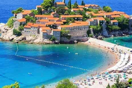 Queen of Montenegro - Four nights stay with flights, hand luggage and breakfast - Save 0%