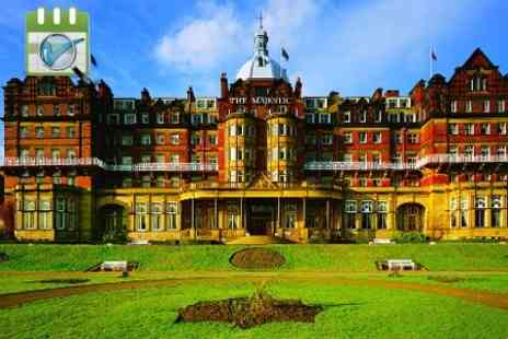 The Majestic Hotel - One night Stay For Two With Breakfast, Dinner, Wine and Leisure Club Access - Save 0%