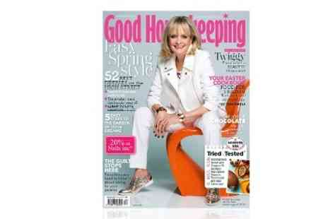 Hearst Magazines - 12 Months Good Housekeeping Magazine Subscriptions - Save 55%