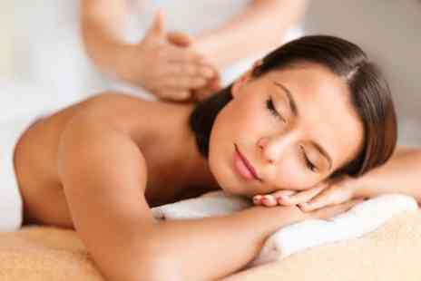 Glowing Salon - Choice of full body massage & facial  - Save 76%