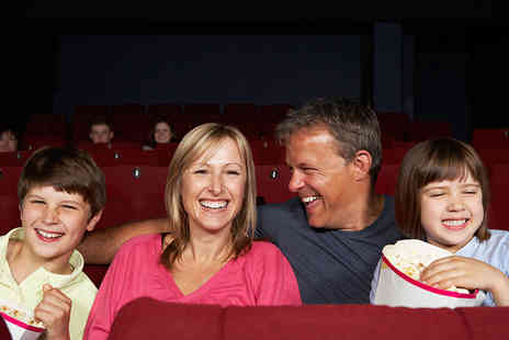 Activity Superstore - Cinema tickets for four   - Save 27%