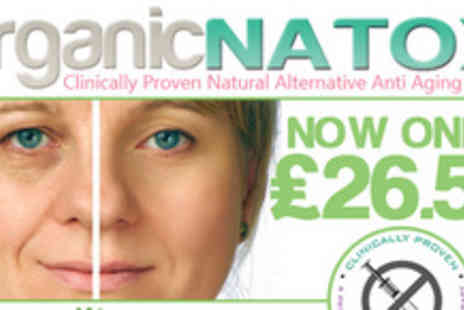 Organic Natox - Defy Mother Nature by getting amazing Richibrown Organic Natox anti ageing cream - Save 71%