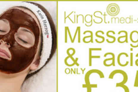 King Street Medi Spa - Get celebrity skin with a Karin Herzog Facial - Save 63%