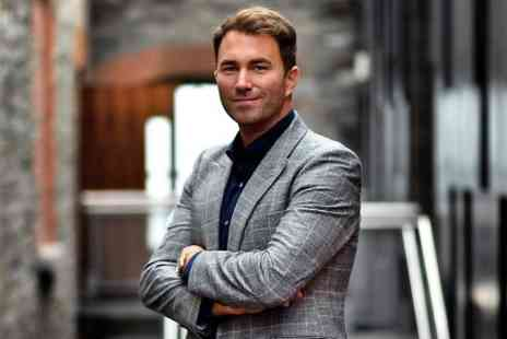 Precision Sports Management - Entry to An Evening With Eddie Hearn With Two Course Meal  - Save 0%