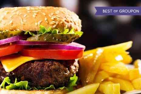 The Blues Bar & Grill - Burger Meal For Two - Save 55%