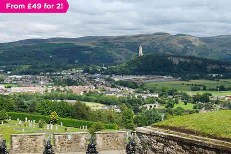 King Robert Hotel - A Hotel on the Outskirts of Historic Stirling - Save 37%
