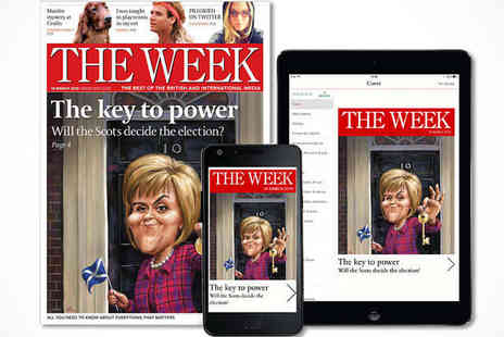 The Week Magazine - The Week Magazine Subscription for 15 Issues or 25 Issues Delivery Included - Save 84%