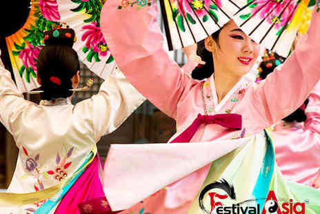 FestivalAsia - Ticket to FestivalAsia at Tobacco Dock - Save 0%