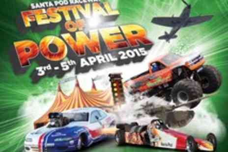 Santa Pod - Tickets to the Car Crazy Family Fun Festival of Power - Save 0%
