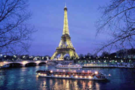 ShortBreaks - Paris in the Spring Chic City Break with Eurostar Tickets and River Seine Cruise - Save 29%