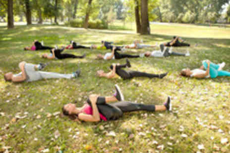 GET FIT BOOTCAMP  - Ten Sessions of  Outdoor Bootcamp - Save 81%