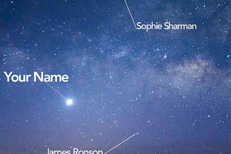 International Star Registrant - Name A Star a gift that will shine forever - Save 53%