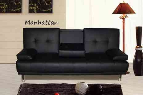 Sleep Design  - Choice of Manhattan Sofa Bed or Kensington Storage Bed - Save 70%