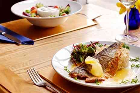 Danube Restaurant - Two Course Lunch for Two   - Save 51%