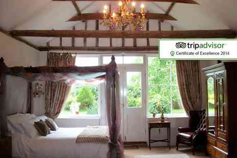 The Walnuts Country House - Two night cottage stay for Two including hot tub, chocolates & bottle of wine  - Save 37%