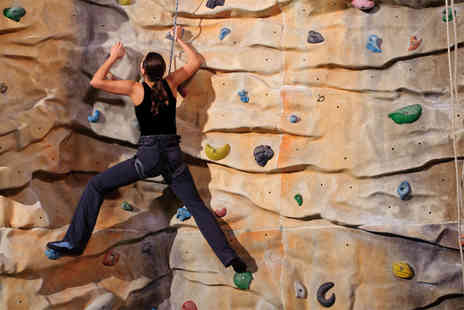The Climbing Hangar - Full climbing day for One including equipment & 1 year membership  - Save 50%