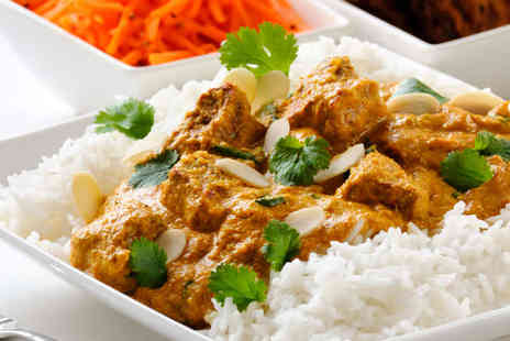 Bombay Palace - Indian Buffet with Wine For Two  - Save 53%