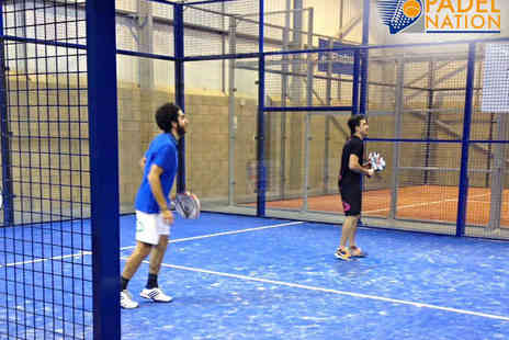Padel Nation - Introductory Padel Tennis Session for Two  - Save 69%