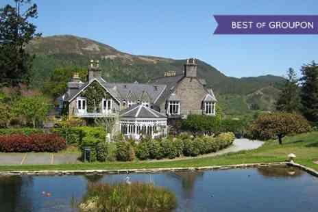 Penmaenuchaf Hall Hotel - One Nights For Two With Breakfast, Cream Tea and Dinner - Save 0%