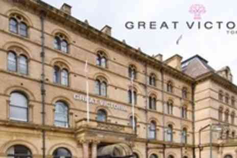 Great Victoria Hotel - One Night Stay For Two With Two Course Meal and Wine - Save 59%