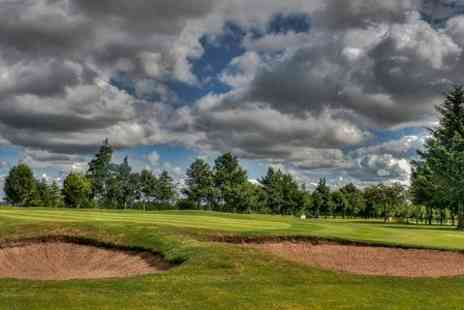 Oldmeldrum Golf Club - 18 Holes Plus 40 Range Balls Each For One - Save 55%