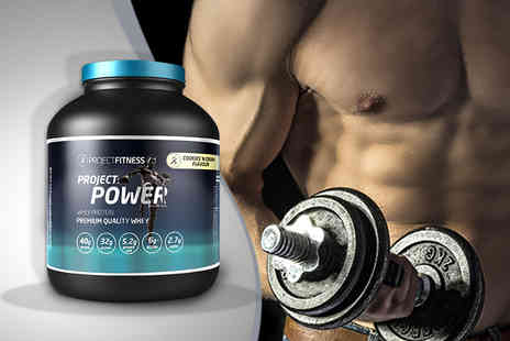 Project Fitness -  2kg tub of Project Power  - Save 62%