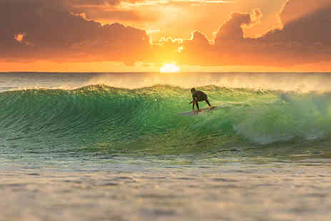 Star Surf Camps - Seven night surf camp in Carcans including 15 hours of surfing lessons and breakfast - Save 31%