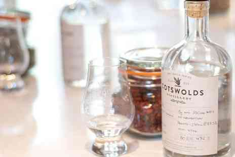 Cotswold Distillery - Gin and Whisky Tour For Two  - Save 50%