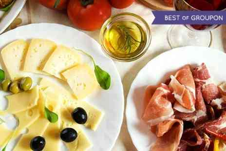 Elysium - Wine Tasting With Antipasti Platter For Two  - Save 64%