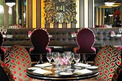 The Grill  -  Mayfair three course meal with cocktails for two  - Save 0%