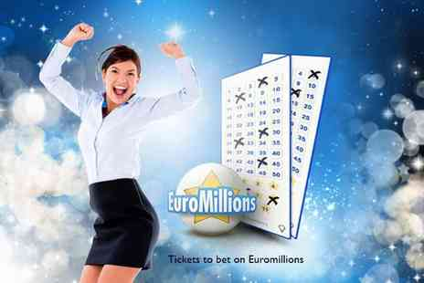Annexio  -  110 syndicate EuroMillions entries - Save 50%