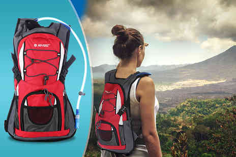 Active Human - Two litre Hi Tec Hydration Backpack - Save 71%